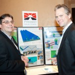 Craig Laher with customer at Solar Power Generation USA Conference, Jan 2011